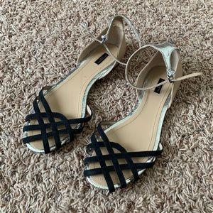 Zara Flat Sandals with Ankle Strap